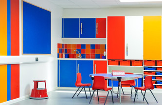 Classroom in Dulwich, London