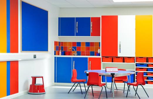 Classroom in Dulwich, London
