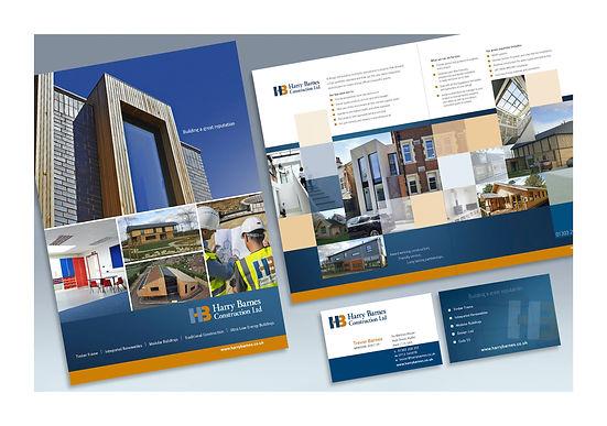 Harry Barnes Construction brochure