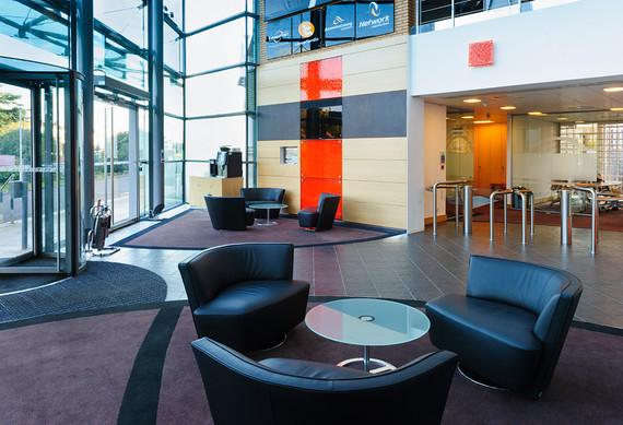 Leaseplan office reception area