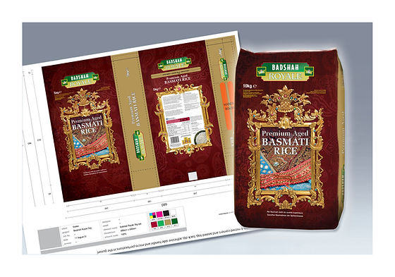 Packaging for Veetee rice