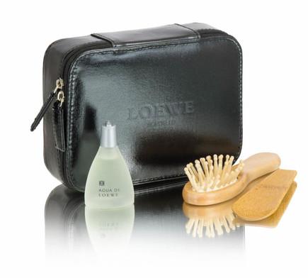 Airline amenity bag for Loewe