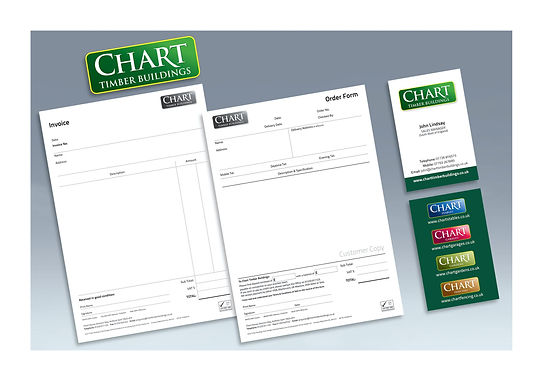 Chart stationery & branding