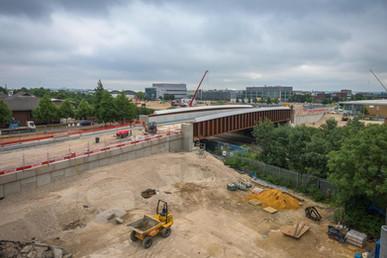 Slough Roadbridge construction