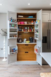 Larder cupboard in a Herne Bay kitchen