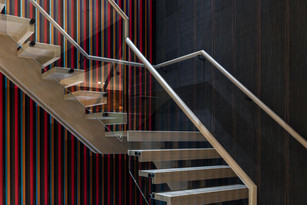 Bespoke commercial staircase