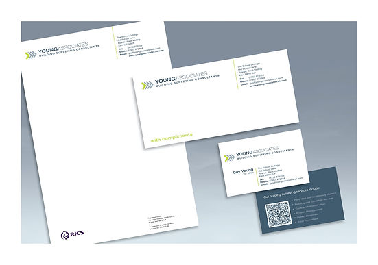 Young Associates stationery