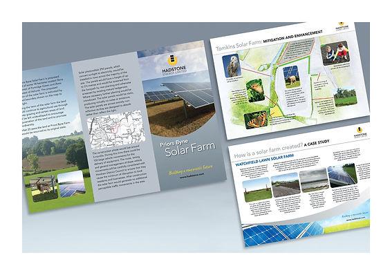 Hadstone leaflet & info boards