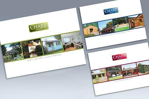Chart brochure design