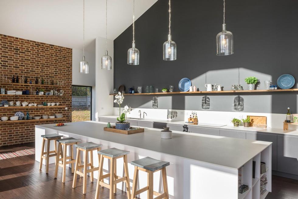 A large kitchen in Sissinghurst