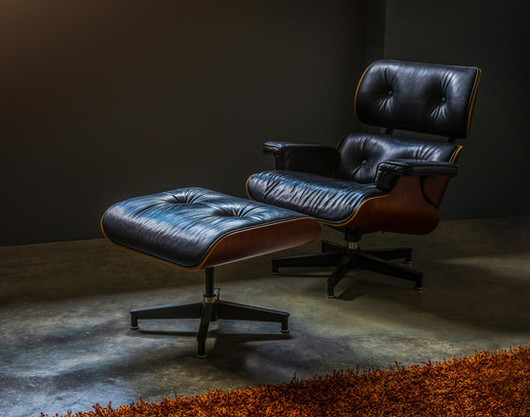 Iconic Eames lounge chair