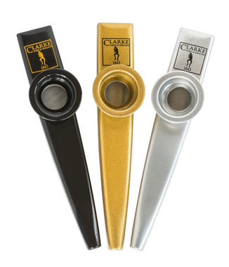 Kazoos black, gold & silver finish