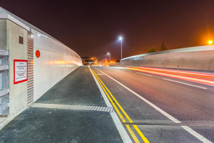 Slough Roadbridge construction Finished