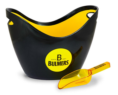 Bulmers ice bucket with scoop