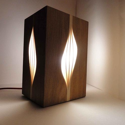 Lampe - Noyer et Frêne