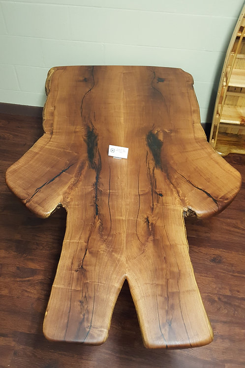 Bookmatched Mesquite Coffee Table