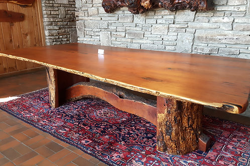Mesquite Live Edge Dining/Conference Table