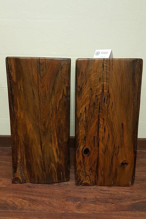 Pecky Cypress Side Table Set
