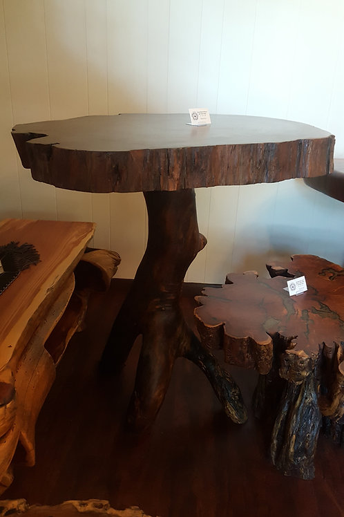 Texas Black Walnut Bar Stool Table