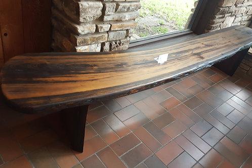 Cypress Bench, Dark Walnut Stain