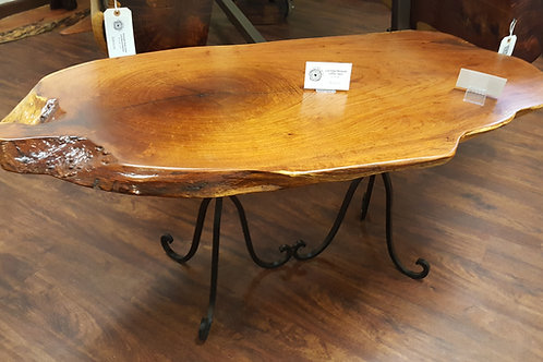 Live Edge Mesquite Coffee Table