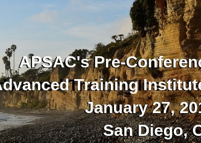 Join APSAC in San Diego for our Advanced Training Institutes!