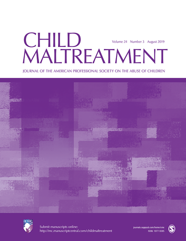 Child Maltreatment: Call for Submissions Connecting COVID-19 and Child Maltreatment