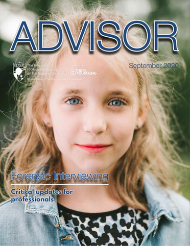 New! APSAC Advisor Volume 32, Issue 2: Special Issue on Forensic Interviewing