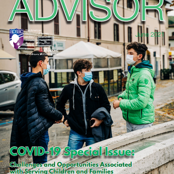 New! APSAC Advisor Volume 33, Issue 2 - Special Issue on COVID-19 and Child Maltreatment