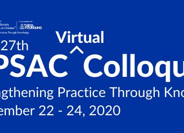 Announcing the 2020 APSAC Virtual Colloquium!