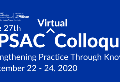 Announcing the 2020 APSAC Virtual Colloquium!