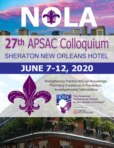 Full Schedule for APSAC's 2020 Colloquium Now Available!