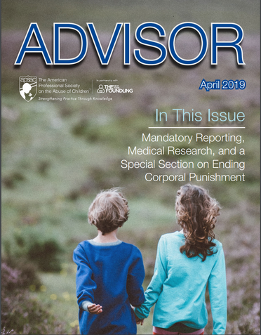 New! APSAC Advisor 31(1) - Special Open Access Issue!
