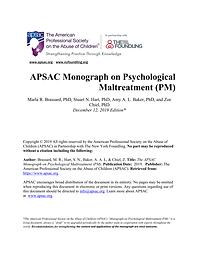 APSAC PM Monograph Final as of 2019.12.p