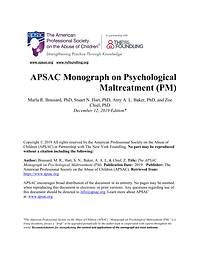 APSAC PM Monograph Final as of 2019.12.p