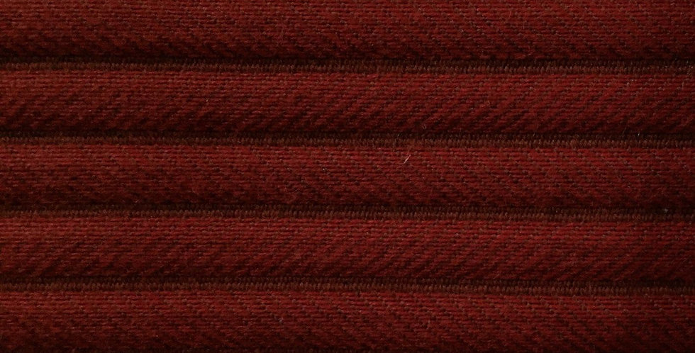 Red Textured Tone on Tone Stripe R/R
