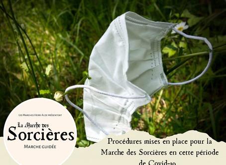 """Procédures mises en place pour """"La Marche des Sorcières"""" en cette période de Covid-19"""