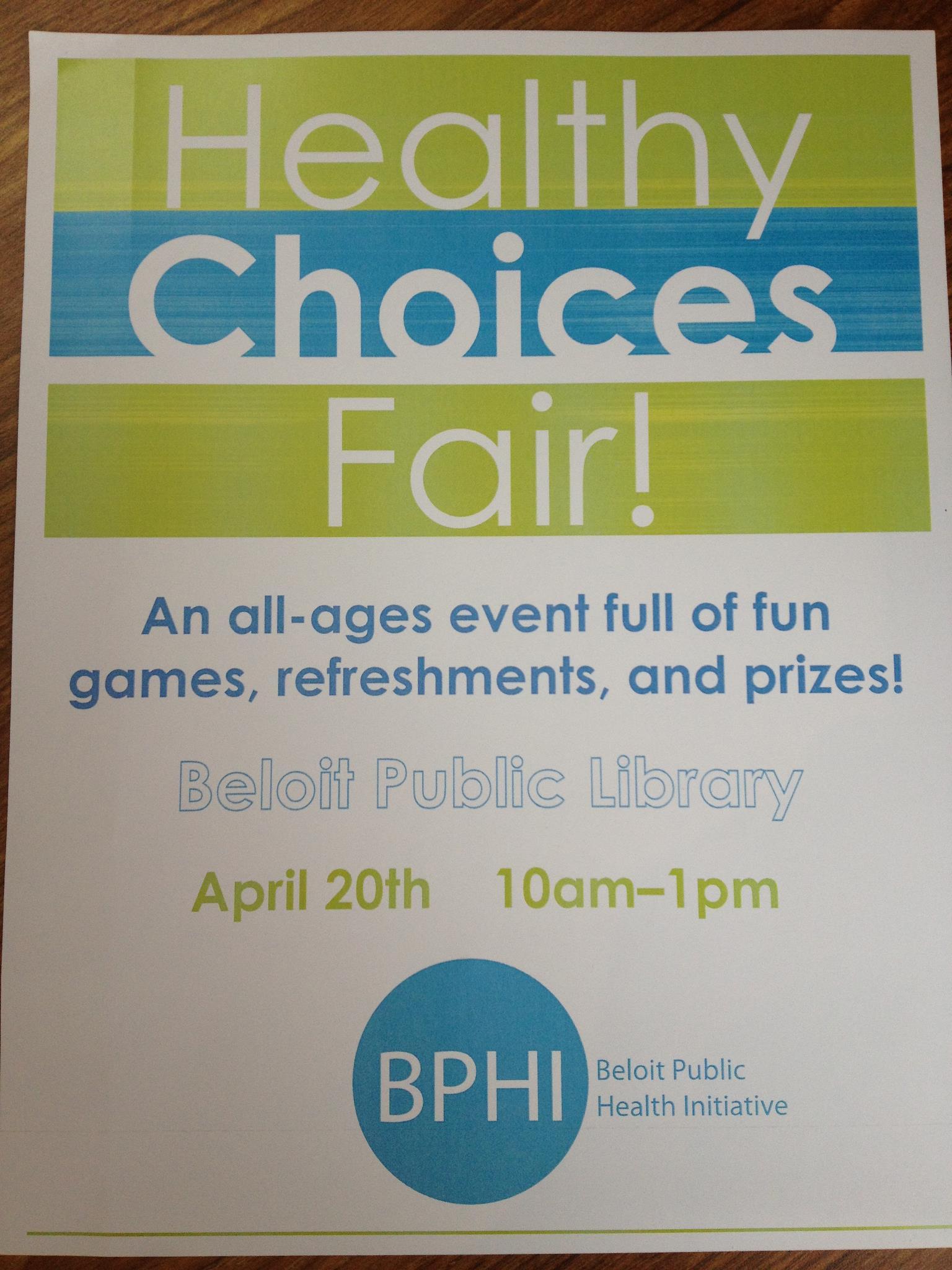Healthy Choices Fair!