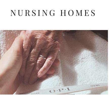 Nursing home manicures