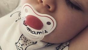 LIAM - 1 an - nouveau bébé mis en valeur