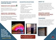 Architectural Metal Coatings brochure (1