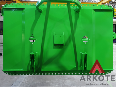 Slasher coated with a #Tuffkote by #Arkote coating system 👌.