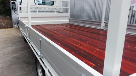 Truck Tray Top Coated with #Shinglebackcoatingsystem❗️👌Coating Colour - Isuzu Artic White.