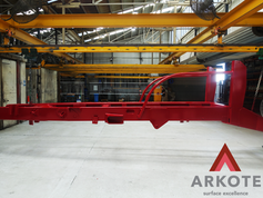 For customers who are concerned about the wear and tear of 🚜Agriculture Equipment - Arkote is the answer❗️.Chassis top coated with #TUFFKOTE by #Arkote coating system 👍.
