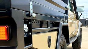 Stunning result on this one. Shingleback was responsible of durable & super quality coating on  Ute Tray and Tool Boxes.