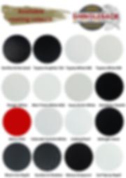 shingleback coating system colour range.