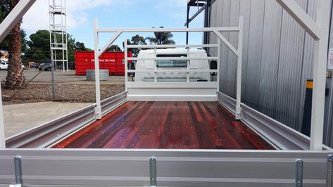 Truck Tray Top Coated with #Shinglebackcoatingsystem ❗️👌Coating Colour - Isuzu Artic White.