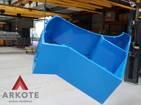 Outdoor furniture coated with #uffkote by #Arkote coating system. ✅Great appearance; ✅Durablity; ✅Resistance to heavy abuse; ✅UV and colour stability; ✅Protection against corrosion.
