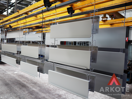 Take a look at top coated SES Panels with #Endurakote by #Arkote coating system.