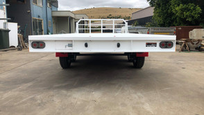 Heavy Duty Trailer. Top coated with two tone colours.